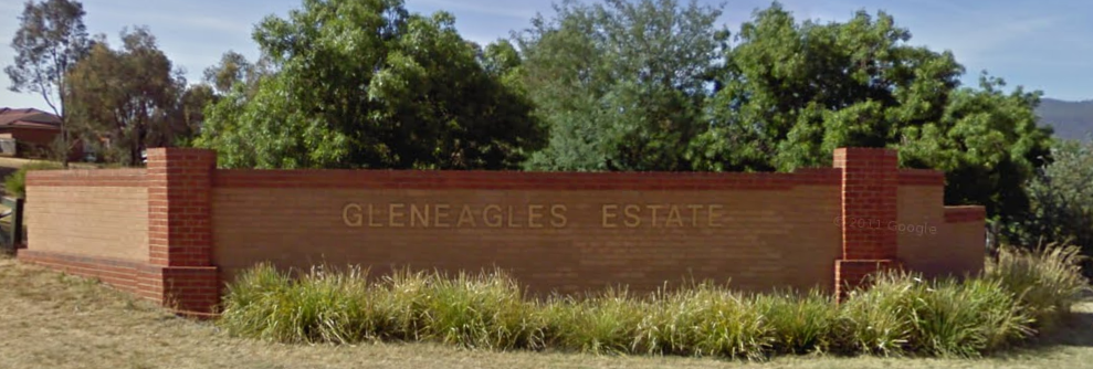 Gleneagles Estate Sign